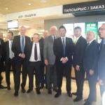 На церемонии открытия McDonald's в Астане (08.03.16)